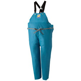 ロゴス マリンエクセル 胸当付ズボン膝当て付(サスペンダー式) ターコイズ 12063 (水用作業着) 3L