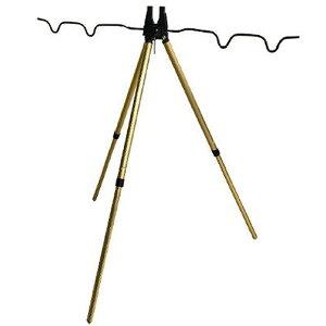 プロマリン アルミ三脚ST 2段 MHG002−2 (竿受け 竿立て ロッドホルダー ロッドスタンド 釣り具)