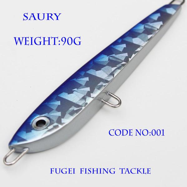 メタルジグ 重さ90g 長さ110mm R12lqsaury001w90 ハードルアー ジグ