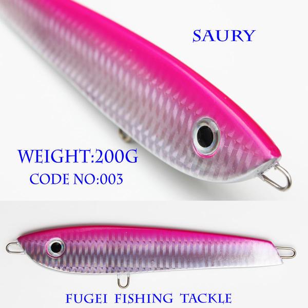 メタルジグ 重さ200g/長さ145mm R12lqsaury003w200 ハードルアー ジグ