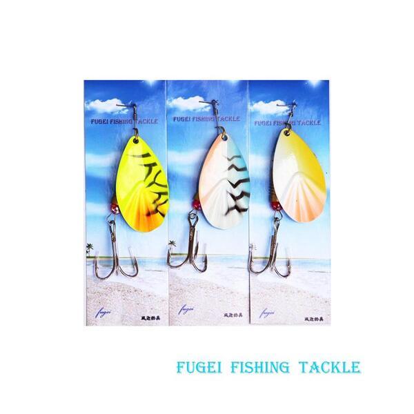 釣具 スピナー 8.5cm 12g 6個 セット R12R26A506 ルアー・フィッシング用 ハードルアー