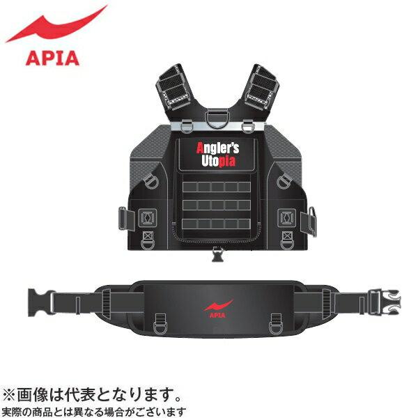 【アピア】アングラーズサポートベスト Ver.3 ブラック