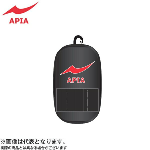 【アピア】2017 APIAポーチ M ブラック×レッド