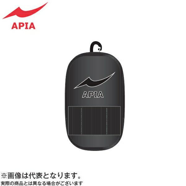 【アピア】2017 APIAポーチ M ブラック×ブラック