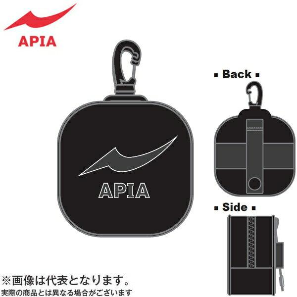 【アピア】2017 APIAポーチ S ブラック×ブラック