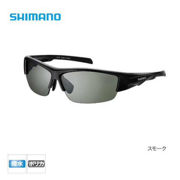 【シマノ】撥水ハーフフィッシンググラス PC[HG-066N]マットブラック S偏光サングラス 釣り SHIMANO シマノ 釣り フィッシング 釣具 釣り用品