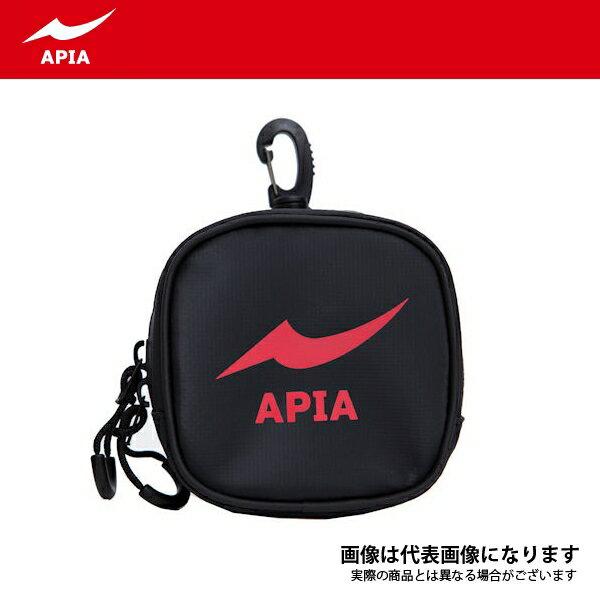 【アピア】2017 APIAポーチ S ブラック×レッド