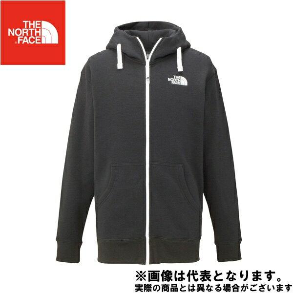 ◆ リアビューフルジップ フーディー(メンズ) XL K ブラック ノースフェイス アウトドア 防寒着 2017秋冬モデル 防寒ウェア