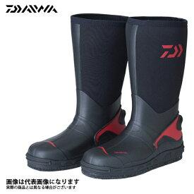 59c5f533271b42 【ダイワ】WB-3501 ウォームアップブーツ ブラック S 24.5釣り 長靴 スパイク ダイワ