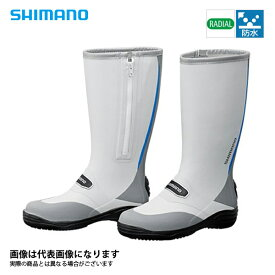 FB-011Q ラジアルブーツ ブルー L シマノ ブーツ 長靴 釣り アウトドア