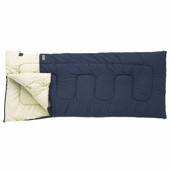 【小川キャンパル】フィールドドリームDX−3 プルシアンブルー(1038-50)寝袋 シュラフ 封筒型シュラフ 小川キャンパル シュラフ