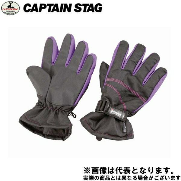 【キャプテンスタッグ】防寒グローブ スタンダード メンズ(ブラック) M(UX-756)