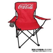 【ドウシシャ】コカコーラアームチェアレッド(CC-Q1802R)