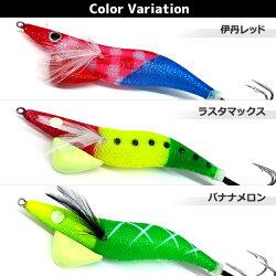 【ハリミツ】蛸墨族オリジナルカラー35gタコエギタコ餌木タコ仕掛け