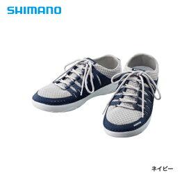 イウ゛ェアー ボートシューズ FS-090R ネイビー 26.0cm シマノ 靴 シューズ 釣り フィッシング