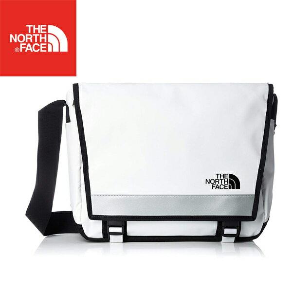 NM81703 BCメッセンジャーバック M ホワイト×ブラック ノースフェイス