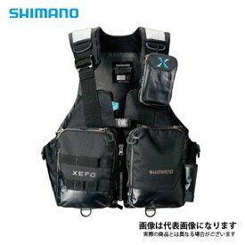 VF-274R ゼフォー アクトゲームベスト ブラック L シマノ 釣り 防寒着 ジャケット 防寒