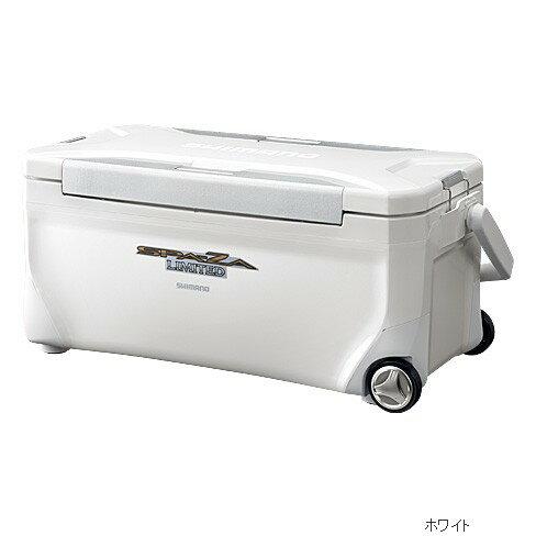 【シマノ】スペーザ リミテッド 350 キャスター付 HC−135M ホワイトクーラーボックス シマノ