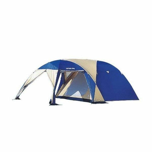 【キャプテンスタッグ】オルディナツールームドームテント 5〜6人用 キャリーバッグ付(M-3117)テント ツールームテント キャンプ テント
