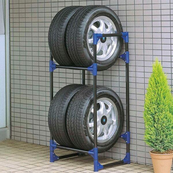 【キャプテンスタッグ】タイヤガレージ 普通自動車用(M-9639)