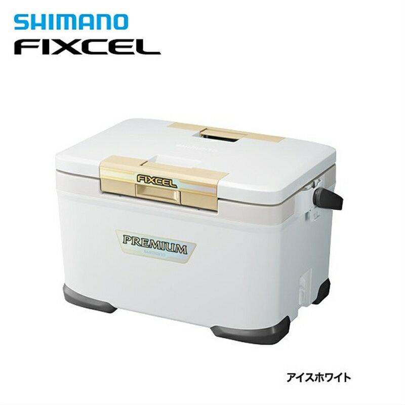 【シマノ】フィクセル プレミアム300 ZF-030N アイスホワイトクーラーボックス シマノ