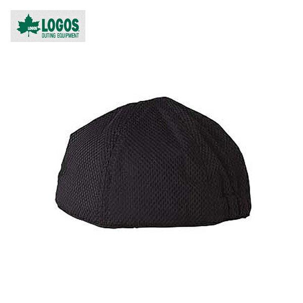 【ロゴス】汗取り帽子 ブラック(55120719)