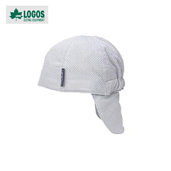 【ロゴス】冷え帽 グレー(85100811)