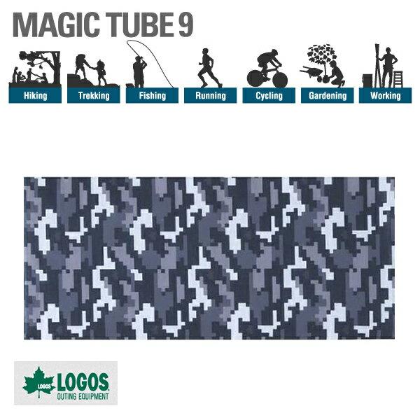 【ロゴス】マジックチューブ9 デジカモ 夏も快適な機能性ウェア(81690303)