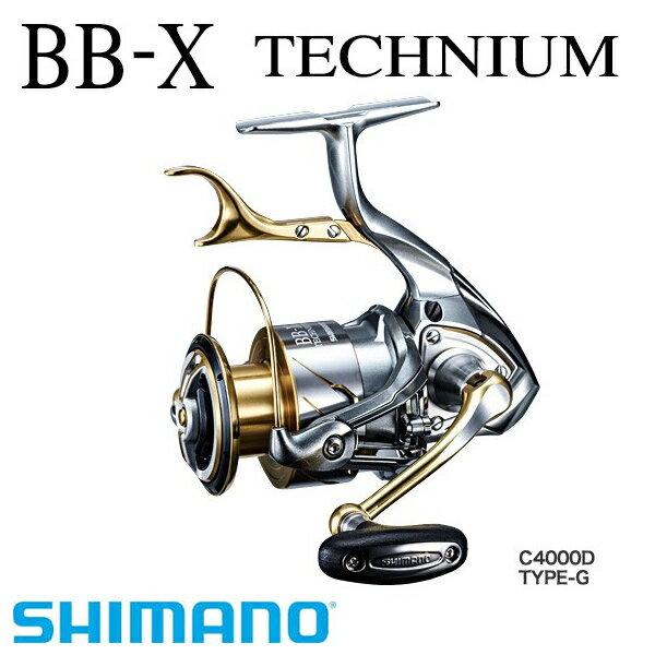シマノ 15 BB-X テクニウム C4000DT-G