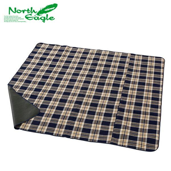 【ノースイーグル】アクリル行楽シート200 チェック(NE300)