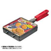 【パール金属】おやつDEっSEふっ素加工たい焼器(D-419)