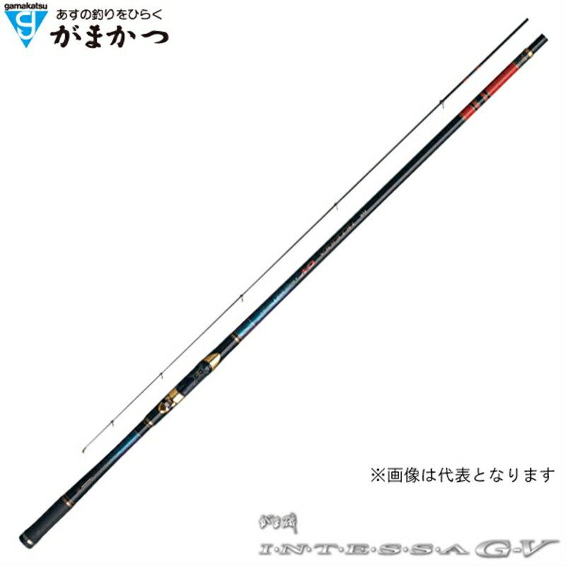 【がまかつ】がま磯 インテッサG-5 3号 5.3M