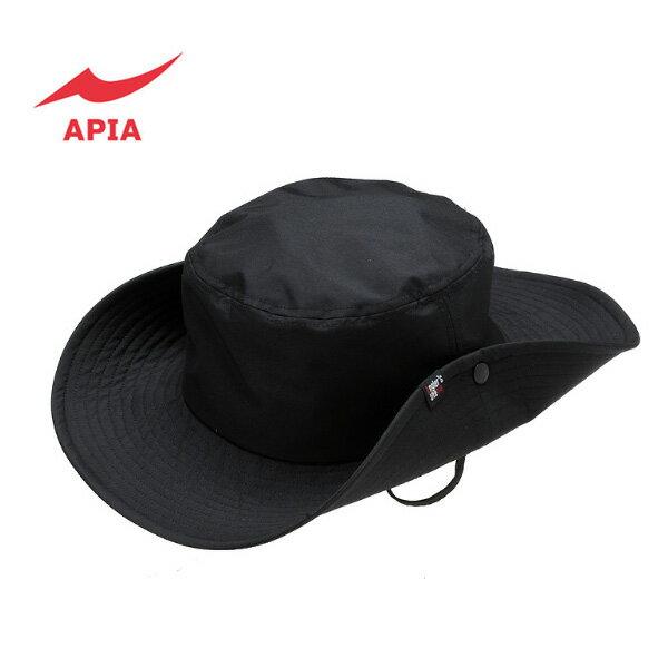 【アピア】2016 APIA撥水アングラーズハット ブラック
