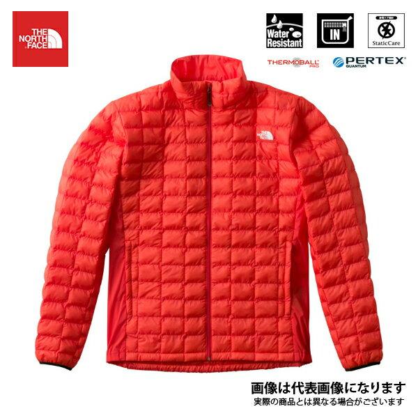 NY81805 レッドポイントベリーライトジャケット メンズ ファイアリーレッド L ノースフェイス アウトドア 防寒着 ジャケット 防寒