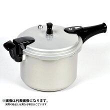 【パール金属】ホットクッキングアルミIH対応圧力鍋6.0L(1升炊)(HB-378)
