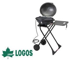 LOGOS BBQエレグリル 81060000[大型便] ロゴス バーベキュー BBQ キャンプ コンロ
