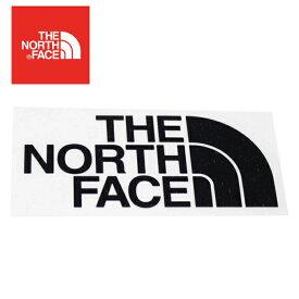 TNFカッティングステッカー ブラック NN88106 ノースフェイス アウトドア 用品 キャンプ 道具