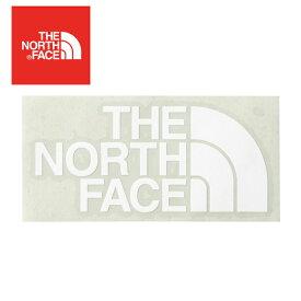 TNFカッティングステッカー ホワイト NN88106 ノースフェイス アウトドア 用品 キャンプ 道具