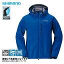 ストレッチ3レイヤーフーディージャケット Dネイビー XL JA-040Q シマノ 釣り 防寒着 ジャケット 防寒