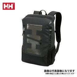 【ヘリーハンセン】バーチカルロゴアーケルデイパックブラック(HY91881)