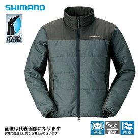 ライトインシュレーションジャケット チャコール M JA-051Q シマノ 釣り 防寒着 ジャケット 防寒 【処分特価】