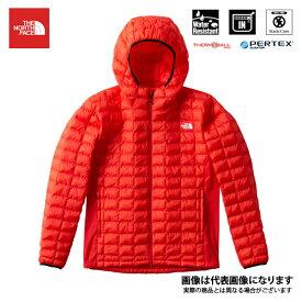 【在庫処分特価】 レッドポイントベリーライトフーディ(メンズ) ファイアリーレッド XL NY81804 ノースフェイス アウトドア 防寒着 ジャケット 防寒