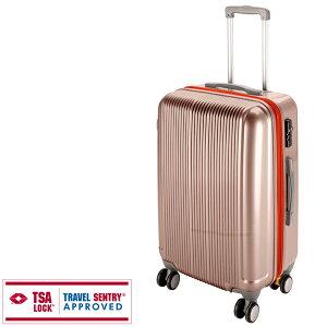 グレル トラベルスーツケース TSAロック付WFタイプ M シャンパンベージュ UV-23 キャプテンスタッグ バッグ 鞄 アウトドア