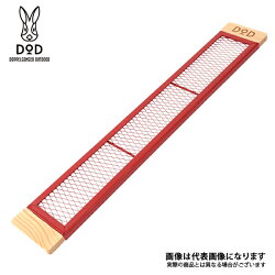 【DOD】カシスプレートM(TP4-536-RD)