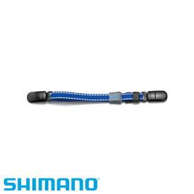 キャップストラップ [ BE-001N ] ブルー フリー(最大26cm) シマノ 帽子 ハット アウトドア 釣り 【在庫処分特価】
