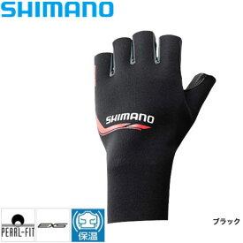 パールフィットEXSグローブ5(左手) [ GL-09LN ] ブラック L シマノ 釣り 防寒着 手袋 防寒 【処分特価】