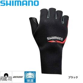 パールフィットEXSグローブ5(右手) [ GL-09RN ] ブラック M シマノ 釣り 防寒着 手袋 防寒 【処分特価】