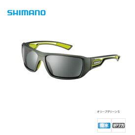 フィッシンググラス RE [ HG-008M ] オリーブグリーンS/スモーク シマノ 偏光サングラス 釣り