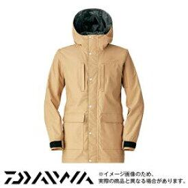 バリアテック フィッシングパーカ ベージュ M DJ-5705 ダイワ 釣り 防寒着 防寒ウェア 【処分特価】