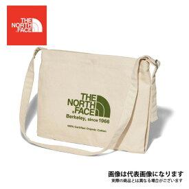 ミュゼットバッグ ナチュラル×ガーデングリーン NM81765 ノースフェイス